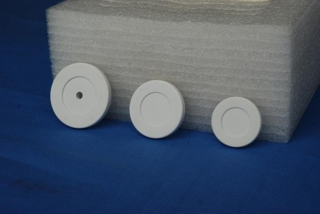 ABS tag bianco 22 mm